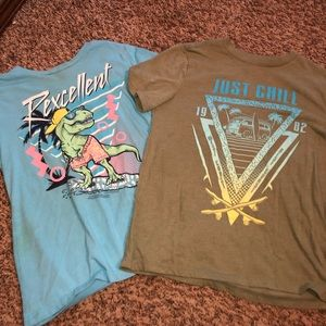 Boys Arizona T-shirt's Size M 10/12